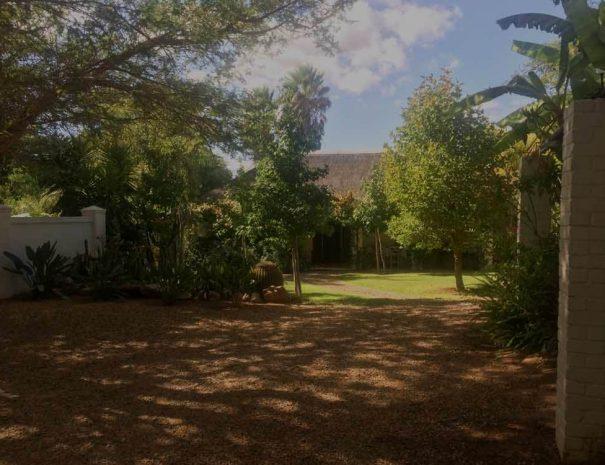 river lodge vredendal accommodation garden